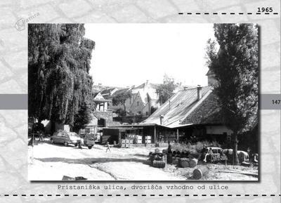 Maribor - Pristaniška ulica, dvorišča vzhodno od ulice