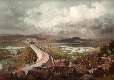 Železnica na Barju