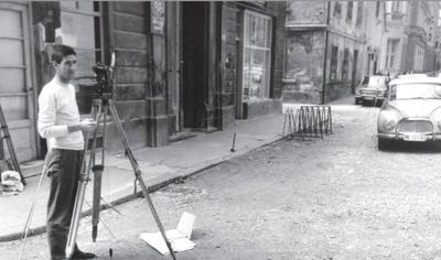 Delo na terenu, okoli 1965