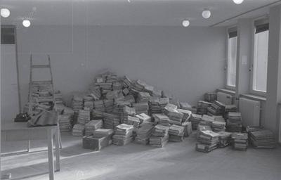 Arhiv gradbenih spisov Zavoda za urbanizem ob selitvi l. 1965