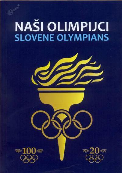 Naši olimpijci: knjižna platnica