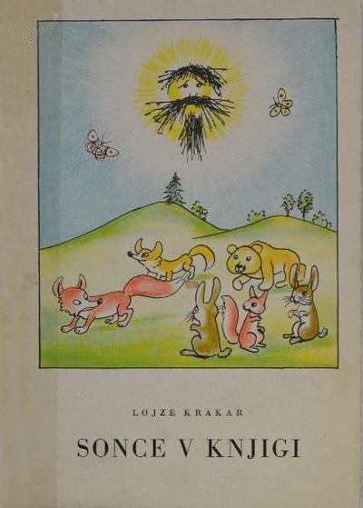 Prva otroška pesniška zbirka - Sonce v knjigi