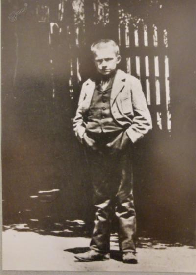 Vladimir Levstik kot prvošolec