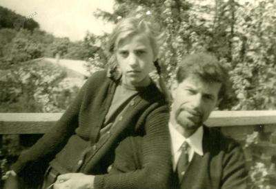 Jeanne in Janez, maja 1964