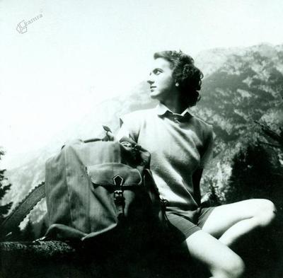 Jolka, Bohinj, avgusta 1950