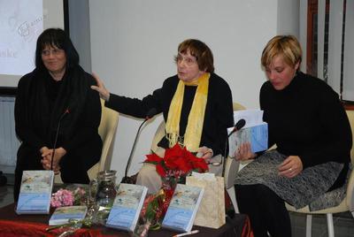Miriana Antoni, Jolka Milič in Magdalena Svetina Terčon