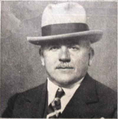 Portret ljubljanskega župana Dinka Puca