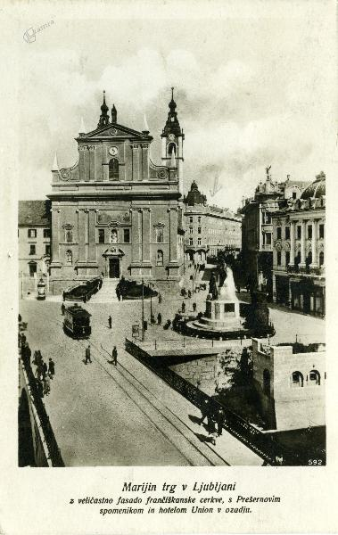 Marijin trg v Ljubljani