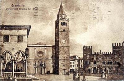 Koper - Titov trg, 1840