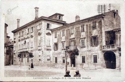Koper - Kolegij Sv. Klare, 1829