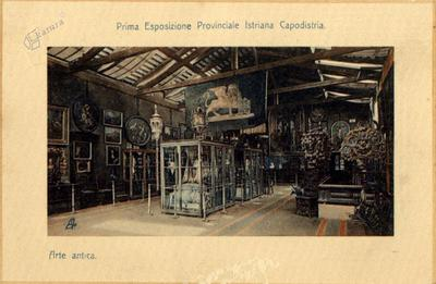Prva istrska pokrajinska razstava Koper. Antična umetnost, 1910