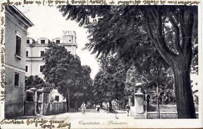 Capodistria - Belvedere, 1935