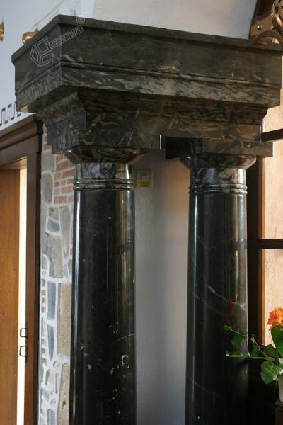 Marmorna stebra