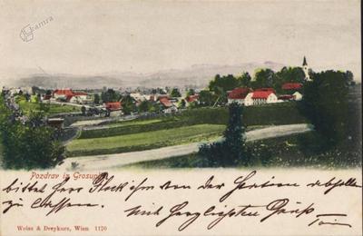 Velika cesta okoli leta 1900
