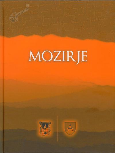 Naslovnica monografije Mozirje