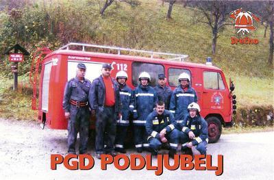 Gasilska desetina PGD Podljubelj 2008