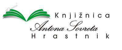 Logotip Knjižnice Antona Sovreta Hrastnik
