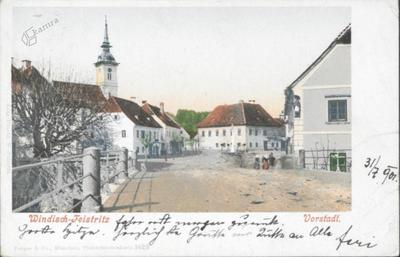 Windisch Feistritz, Vorstadt