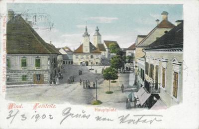 Windisch Feistritz, Hauptplatz