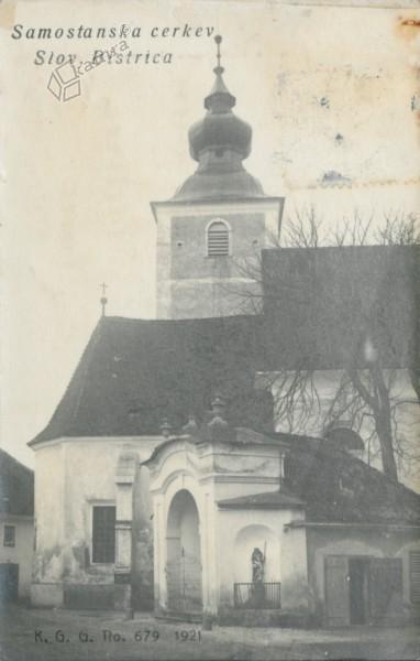 Slovenska Bistrica, samostanska cerkev