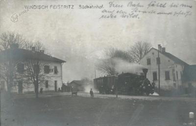 Windisch Feistritz, Südbahnhof