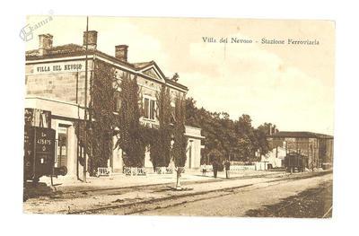 Villa del Nevoso, Železniška postaja, okrog 1934 leta