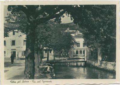 Villa del Nevoso, Potok Bistrica, okrog 1935 leta