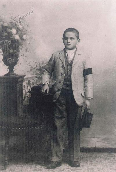 Otroška leta Antona Sovreta