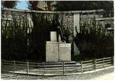 Vrhnika - spomenik Ivana Cankarja