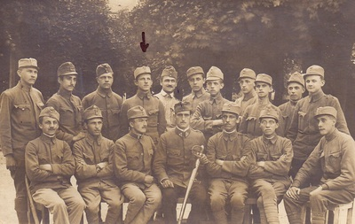 Bevc Franc v avstro-ogrski vojski