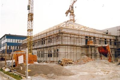 Bolnica med gradnjo