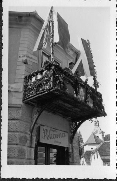 Balkon Demšičeve hiše
