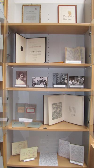 Kotiček Savice Zorko v domoznanski zbirki Knjižnice Brežice