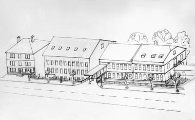 Idejni načrt prenove bolnišnice na stari lokaciji
