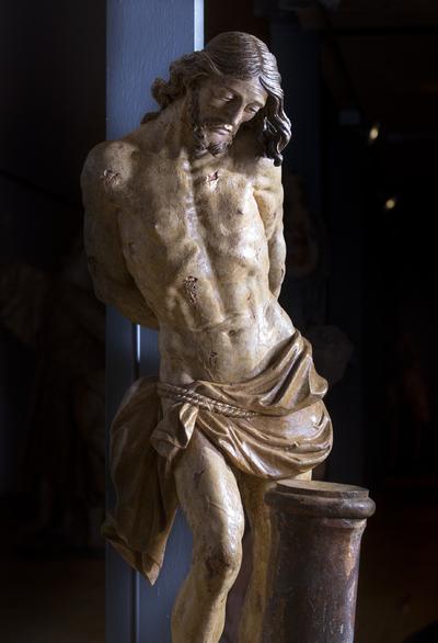Jezus iz 8. kapele v muzeju