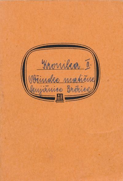 Kronika brežiške knjižnice od 1964 do vključno 1974 (2. zvezek)