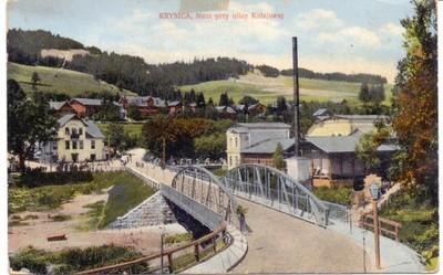 Krynica - Most przy ulicy Kolejowej