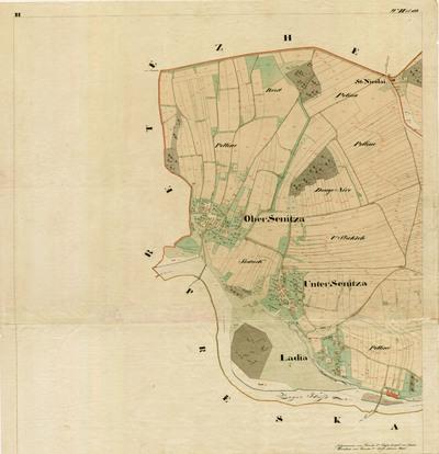 Franciscejski kataster k.o. Senica (1818-1828)