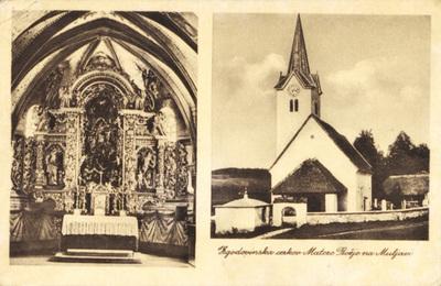 Cerkev na Muljavi 1929