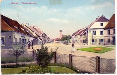 Mureck. Bismarckplatz.