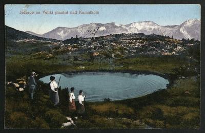 Jezerce na Veliki planini nad Kamnikom