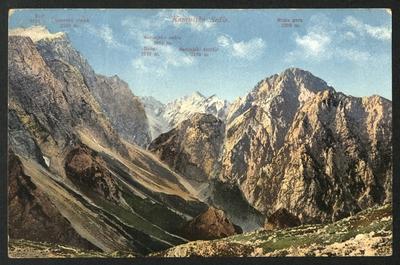 Pogled s Kamniškega sedla na Savinjsko sedlo