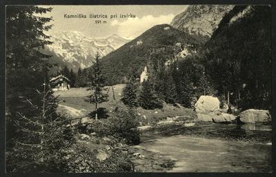 Kamniška Bistrica pri izvirku
