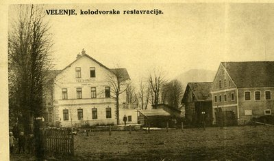 Kolodvorska restavracija - nekdanji hotel Edvard Rak