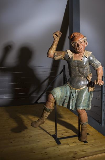 Rabelj iz 8. kapele v muzeju