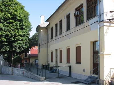 Arkova bolnišnica, gospodarski vhod