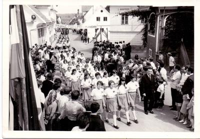 Zbor Osnovne šole Šentvid pri Stični, 1970