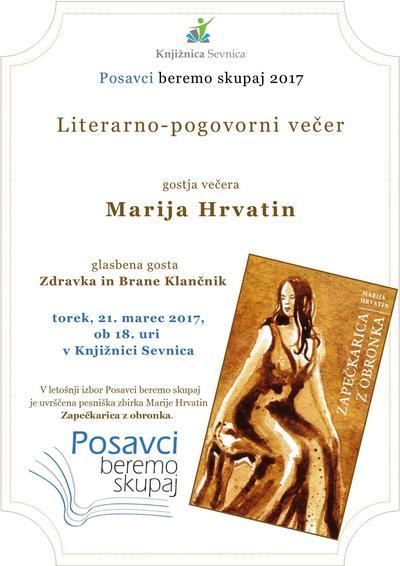 Literarno-pogovorni večer