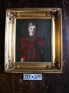 Maleri: Søren Hornbechs datter,9 år, 1831 MBr