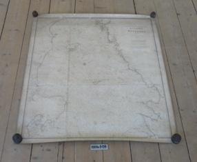 Søkort, Kattegat, svenske og jyske kyst